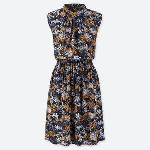 Uniqlo Floral Printed Sleeveless Dress XS